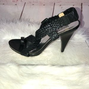 Michael Michael Kors Strappy Sandal Heel Size 7.5
